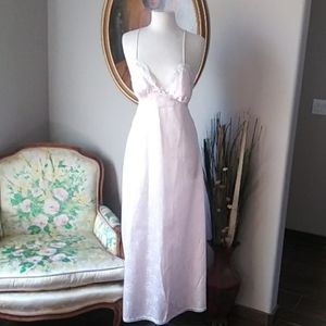 NWOT Christian Dior Pink Lingerie Gown. XS